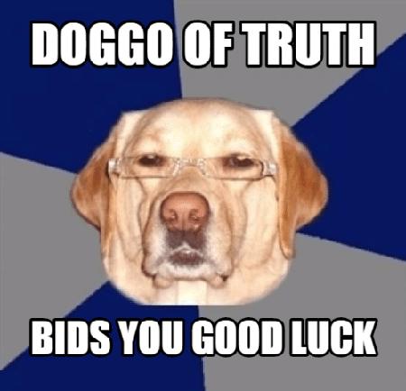 doggo of truth meme